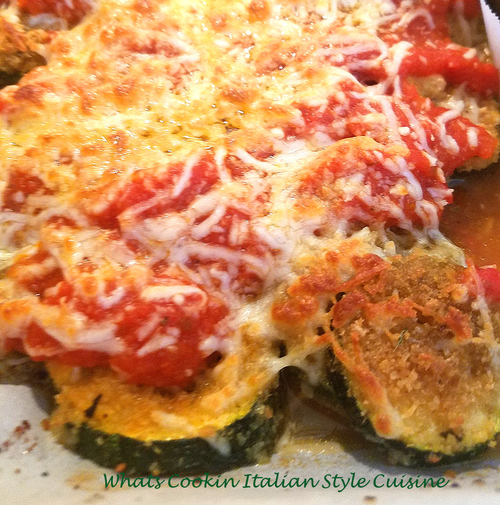 Quick Baked Zucchini And Yellow Squash Parmigano Recipe