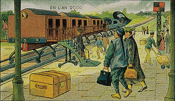 08-Electric-Train-Villemard-En-L-An-2000-wikimedia-Futurism-with-Illustrated-Postcards-from-the-1900s-www-designstack-co