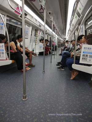 naik subway di shenzhen