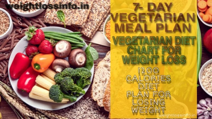 Best 7-Day Vegetarian Weight Loss Diet plan