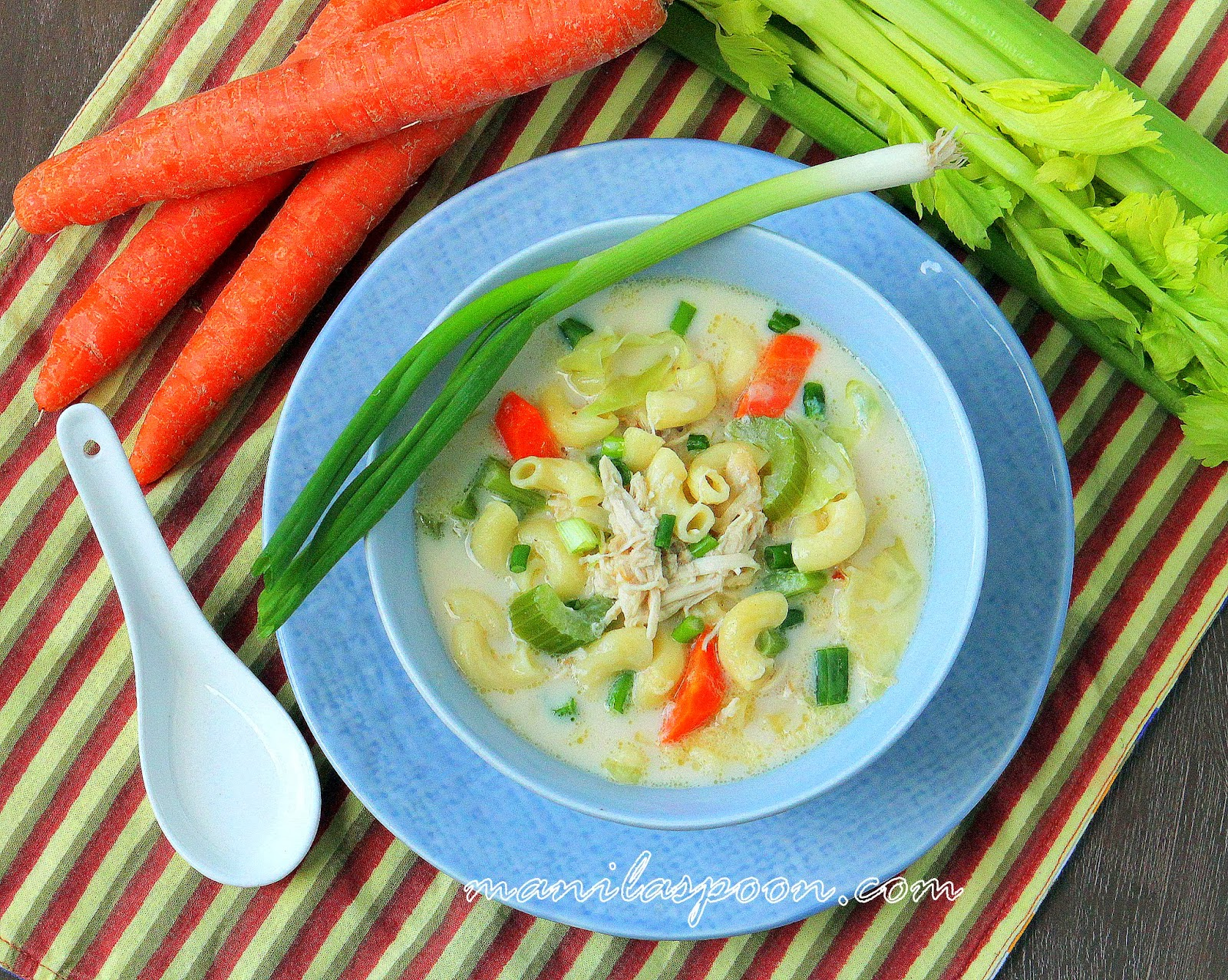 Creamy chicken sopas filipino chicken macaroni soup manila spoon i forumfinder Image collections
