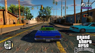 GTA SAN ANDREAS 8K HD ROAD HD GRAPHICS MOD