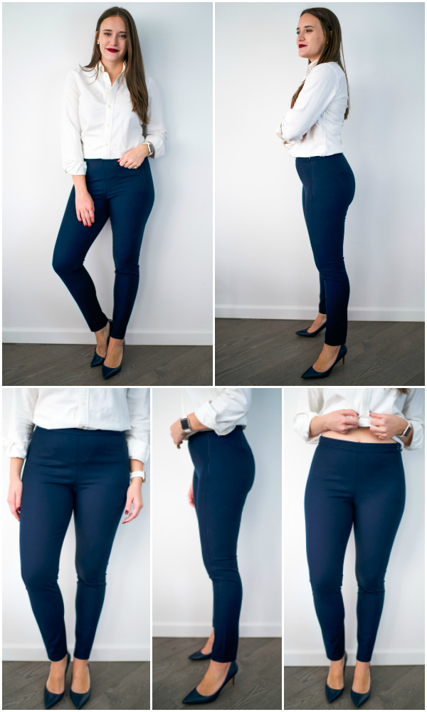 64d889c57a7 The Ultimate Work Pant Review by popular New York fashion blogger Covering  the Bases