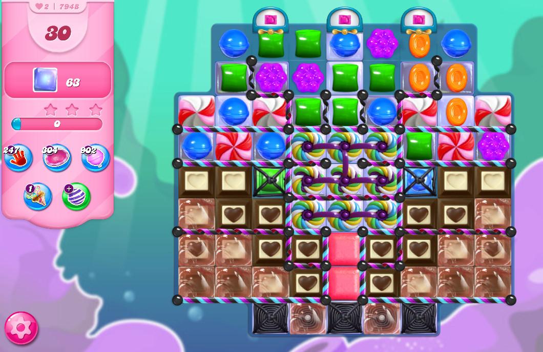Candy Crush Saga level 7948