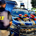 Em Humaitá, PRF e PM prendem idoso que saiu de Rondônia com 25 quilos de cocaína