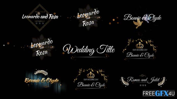 Six Beautiful Wedding Title