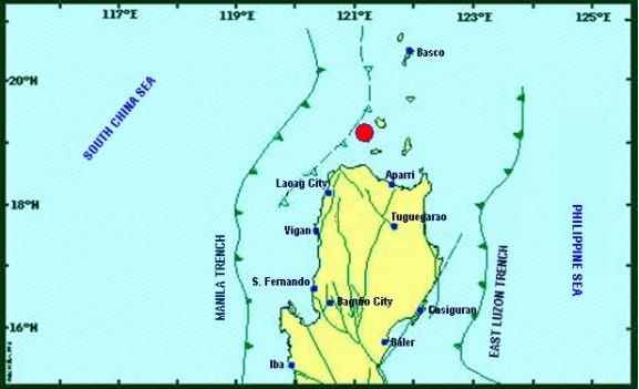 Magnitude 5.1 eathquake jolts Cagayan, Ilocos