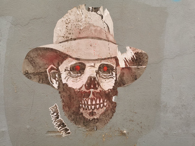 Paste Up Art by Bacondrum found at Hop Temple in Ballarat
