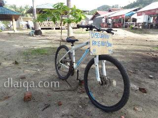 sewa sepeda kayuh