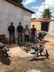 Polícia Militar de Lago dos Rodrigues recupera motocicleta furtada