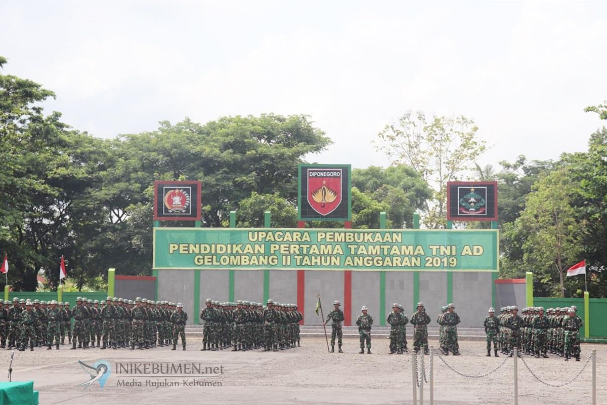 446 Calon Prajurit Tamtama TNI AD Digembleng di Secata Gombong
