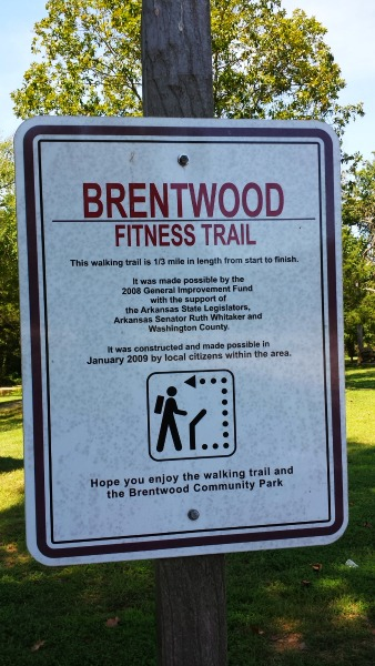 Brentwood Community Park and Rest Area in Brentwood, AR