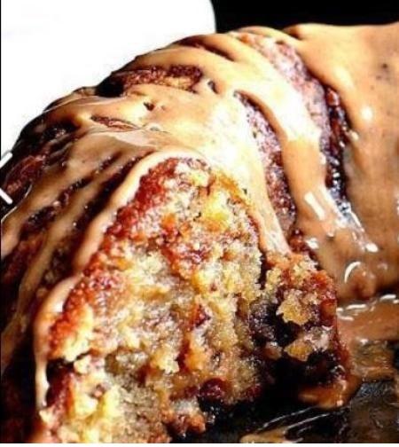 Brown Sugar Carmel Pound Cake