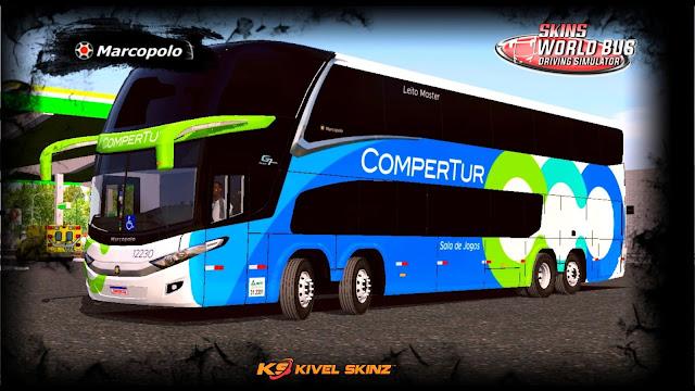 PARADISO G7 1800 DD 8X2 - VIAÇÃO COMPERTUR TRANSPORTES TURÍSTICO