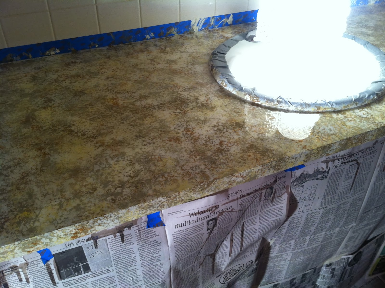 Epoxy Paint Effects : Diy why spend more stone effects spray paint on countertops