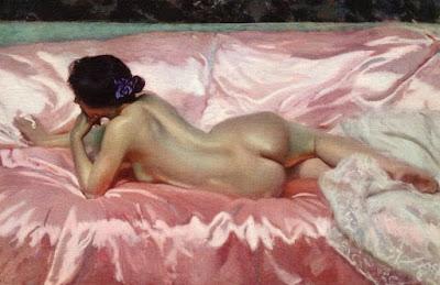 """Joaquín Sorolla, """"Desnudo de mujer"""", 1902"""