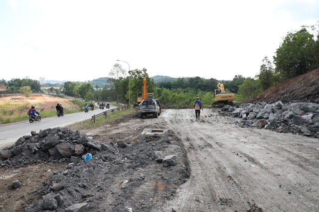 Pembangunan dan Peningkatan Infrastruktur Jalan Depan Southlink Terus Digesa BP Batam