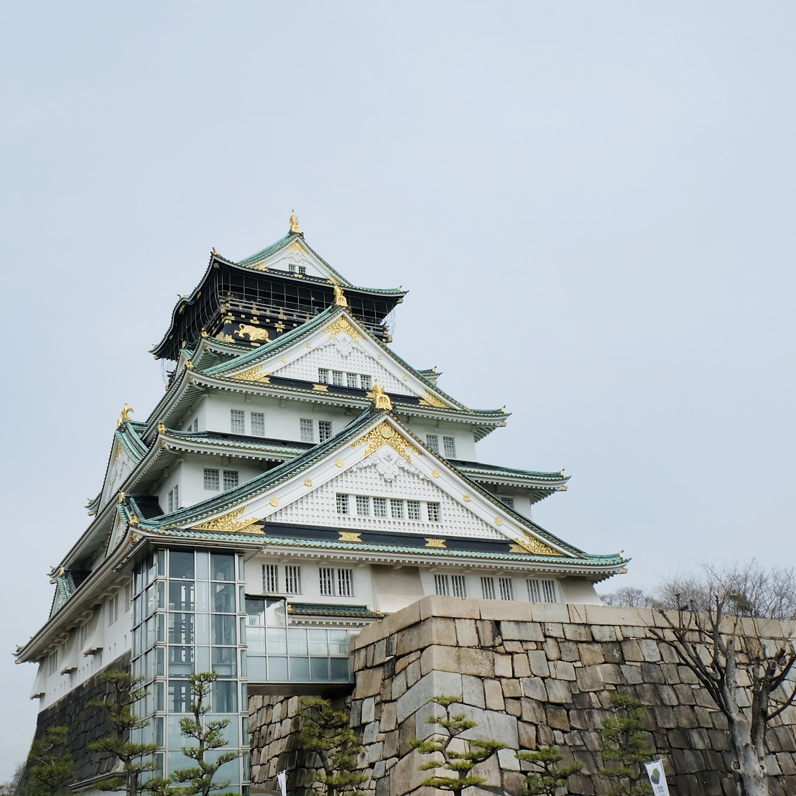 Japan 14 days itinerary osaka castle | www.bigdreamerblog.com