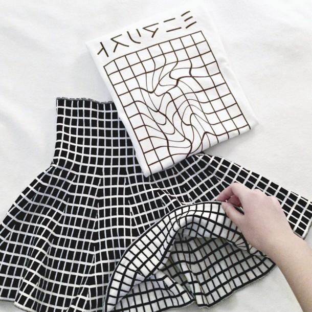 Zdobienie rodem z Tumblr - grid pattern