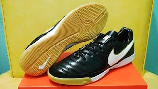 Nike Tiempo Mistik V Hitam