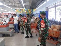 Bulan Puasa, TNI Kodim Pekalongan Tetap Semangat Patroli  Wasdal Gakkum PPKM Mikro