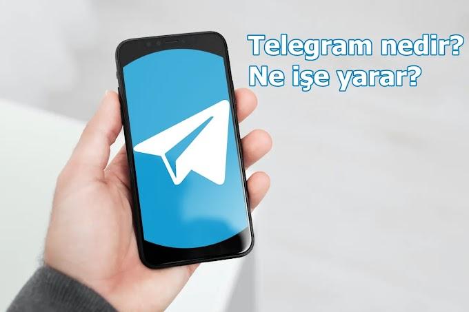 Telegram nedir ne işe yarar?