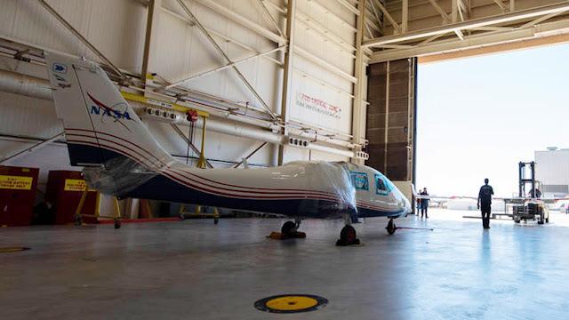 La NASA recibe su primer avión experimental totalmente eléctrico
