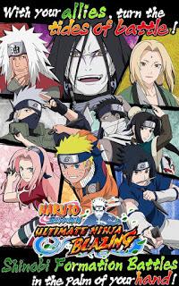 Naruto Senki Ultimate Ninja Blazing v1.1.0 Apk Terbaru