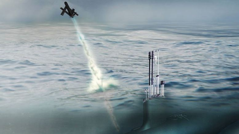 Sub launched Blackwing UAV can control a swarm of unmanned