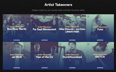 Post Archives: Spotify!, #APAHM, Run River North, FM, Shinoda x Hahn, Dumbfounded, And Curated Goodness