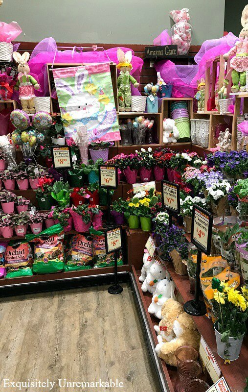 Grocery Store Floral Department