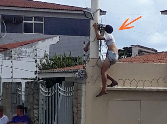 Resultado de imagem para Homem morre eletrocutado em cima de muro de casa em Lagoa Nova