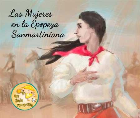 Mi Sala Amarilla Las Mujeres En La Epopeya Sanmartiniana