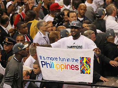 Lebron James Coming to Manila, Philippines
