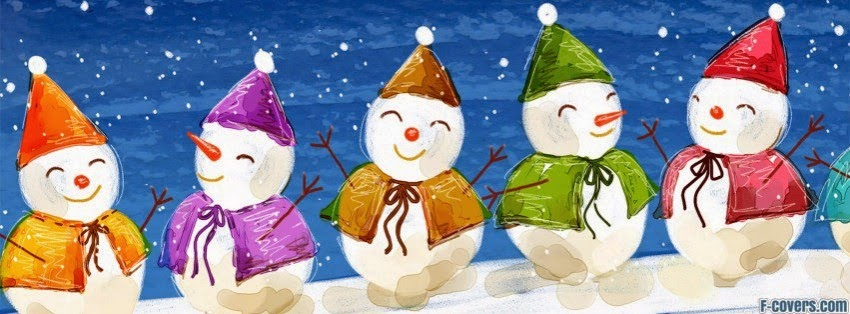 Snowman christmas cover pic