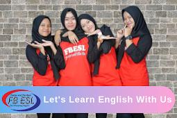 Ayo Belajar Bahasa Inggris - Kampung Inggris Pare   WA 081233332122