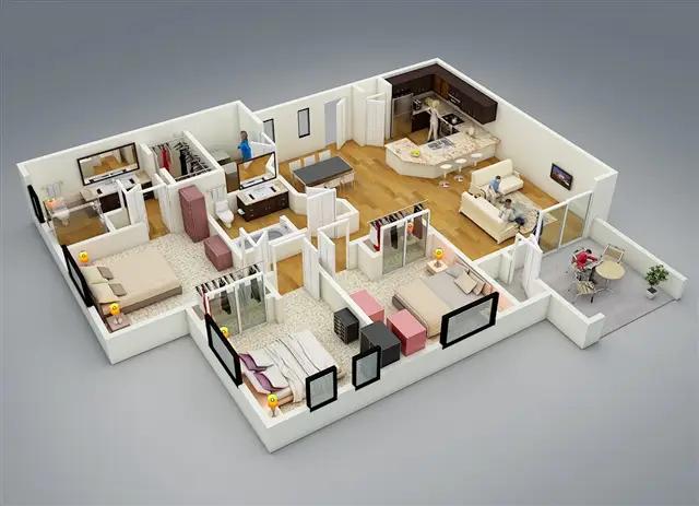 Tips Memilih Gambar Rumah Minimalis Terbaru - Desain rumah minimalis type 54