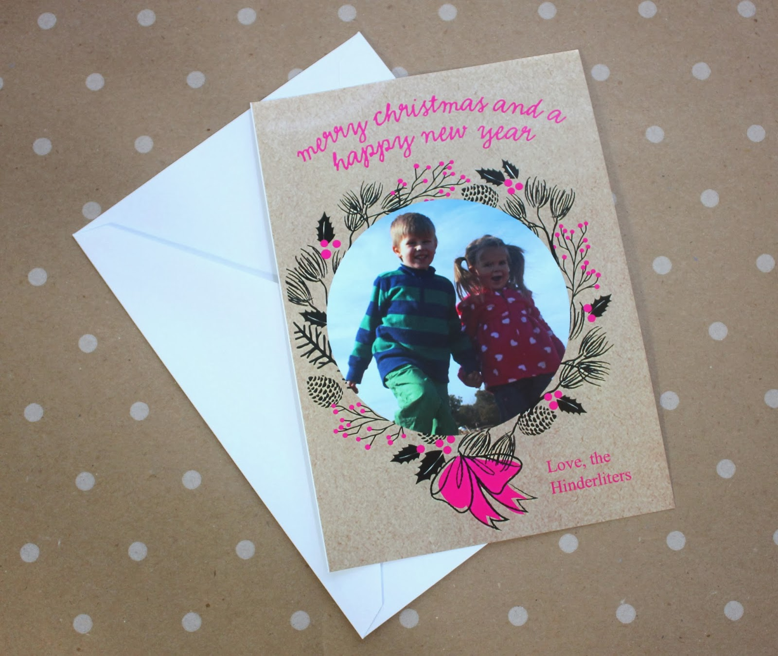 Lines Across Reviews: Printing Holiday Cards With The