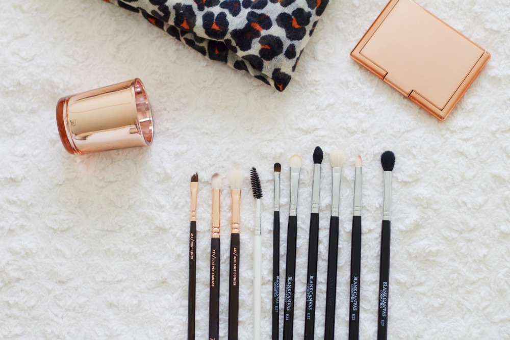 Zoeva rose gold brushes review