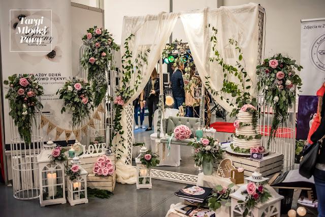 Propozycje dekoracji na wesele Targi Młodej Pary.