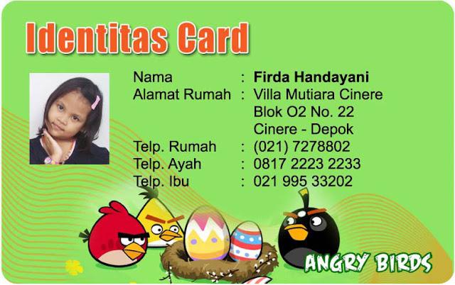 Cetak ID Card Untuk Murid PAUD