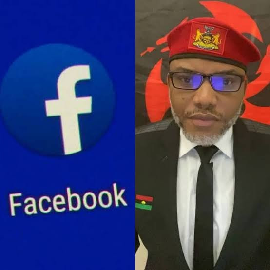 Facebook restricts IPOB's new page on the platform