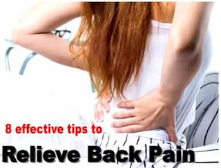 how to relive and control and prevent back pain