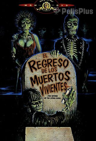 EL REGRESO DE LOS MUERTOS VIVIENTES 1985 HD ONLINE -AUDIO LATINO