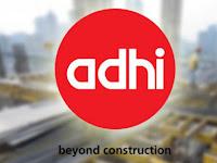 PT Adhi Karya (Persero) Tbk - Recruitment For D3 Fresh Graduate Development Program ADHI March 2018
