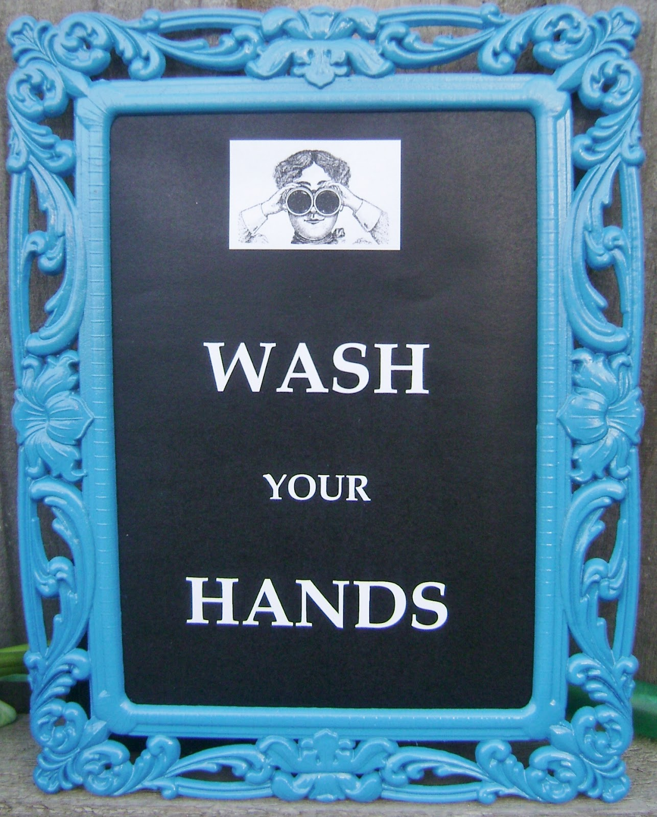 Dk S Craft Cafe Wash Your Hands Sign