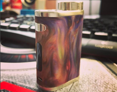 The Eleaf istick Pico Resin is durable