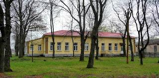 Бобринець. Вул. Миколаївська. Районна лікарня