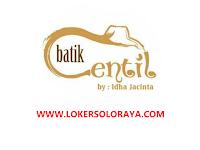 Loker Solo Penjahit Profesional di Batik Centil by Idha Jacinta