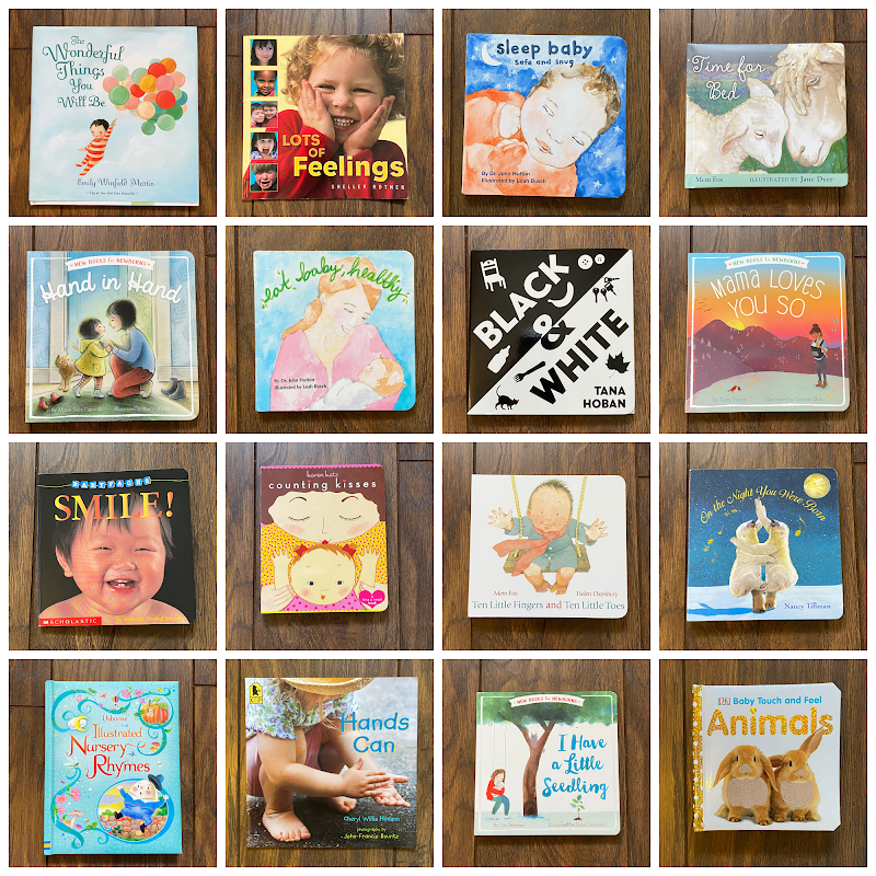 Montessori Friendly Books for Babies Up to 12 Months